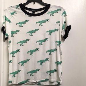 Forever 21 Dinosaur T-shirt
